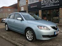 2007 Mazda Mazda3 1.6 TS2 5DR 57 REG Petrol Blue