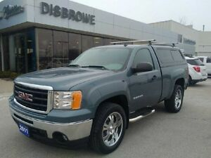 2011 GMC Sierra 1500 WT   Local Trade, Snow Tires Included