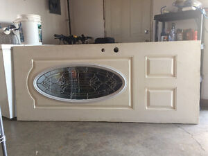 34x80 Door with silver oval window