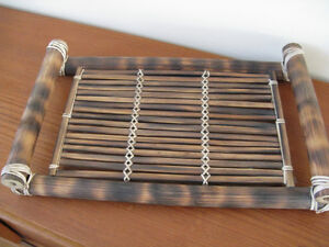Great price for Hand crafted tray and 2 cups West Island Greater Montréal image 3
