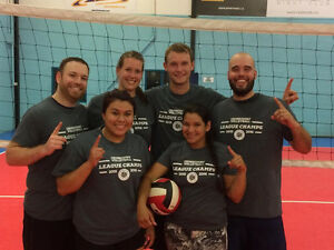 Adult coed REC volleyball London Ontario image 1