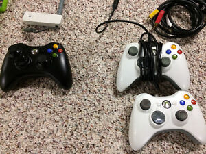 Xbox 360 Original Console with 3 Controllers