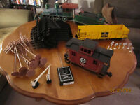 RC 4 Car Train Set With Lots Of Extras!!