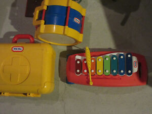 Little Tikes Dr's Kit, Xylophone and Drum West Island Greater Montréal image 1