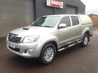 2012 Toyota Hilux Invincible 3.0D-4D Double Cab 4x4 Diesel Pickup * 38k *