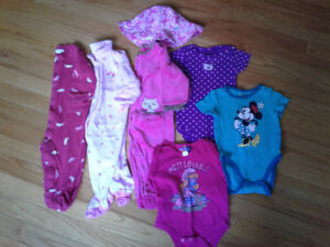 Baby Girl Clothing - size range 6-12 months