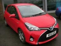2015 Toyota Yaris 1.5 HYBRID ICON 5d 73 BHP Hatchback Automatic