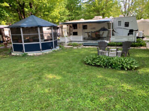 Roulotte Camping Granby