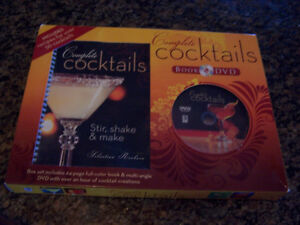 Complete Cocktails Book and DVD Kit (brand new)