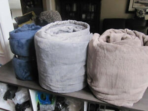 Queen Size Kirkland Signature Blankets, NEW..out of pkg