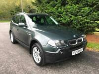 2006 (56) BMW X3 3.0d SE AUTOMATIC 3.0 TURBO DIESEL 4X4