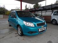 08 (58) CHEVROLET AVEO 1.2 S 3DR AIR-CONDITIONING, REMOTE LOCKING