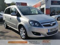VAUXHALL ZAFIRA DESIGN NAV 2013 Petrol Manual in Silver
