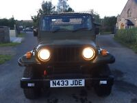 Jeep Wrangler copy, Asia rocsta 4x4 jeep, low miles long mot