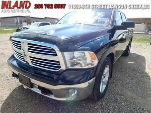 2014 Ram 1500 SLT  Crew Cab,Long Box,Diesel,8.4 Touchscreen