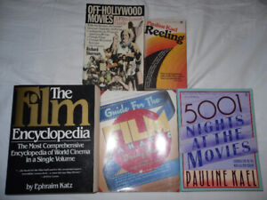 books on film - reference - reviews - analysis - all 4 for $20