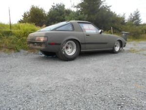 1983 mazda  PRO STREET RACE CAR TRY YOUR TRADES