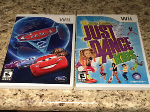 Cars 2 & Just Dance Kids for Wii