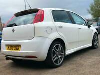 Fiat Punto 1.4 2009, white manual. 5 door. Cheap car no issues. Any inspection.