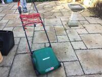 Electric lawn mower ideal for small garden