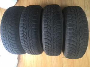 4 pneus d'hiver / winter tires 185/60R14