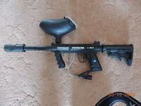 Tippman 98 Custom Pro with accessories