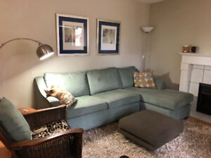 Furnished 3 Bedroom Townhouse, July-Aug