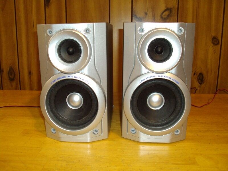 PANASONIC SB PM11 2 WAY REFLEX 100W BOOKSHELF STEREO SPEAKERS