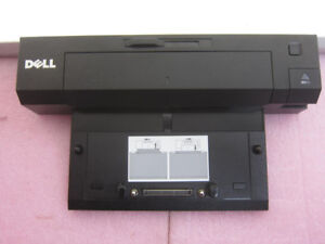 2 Dell E-Port Plus Docking Station Model K09A with Power Adapter