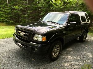 2007 Ford Ranger Pickup Truck with Cap