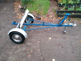 Dinghy boat road trailer converts to 5 X 3 box trailer