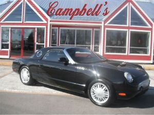 2002 Ford Thunderbird Removable Top WITH LEATHER INTERIOR!! INDE