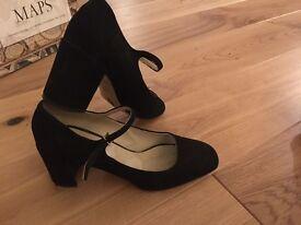 Hobbs Mocha leather shoe - 39 and a half