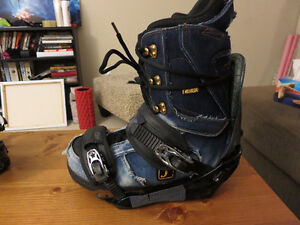 Snowboard Boots and Bindings $50ea or $90 for both!