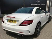 Mercedes-Benz SLC SLC 200 AMG LINE (white) 2017-06-06