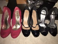 Womens size 8 shoes - £15 each