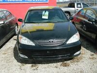 2003 Toyota Camry XLE  V6 Leather Loaded, SAFETY & ETEST INCLUDE