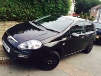 2010 FIAT PUNTO EVO BLACK NEW SHAPE 5DR, START / STOP SYSTEM, HPI CLEAR, FSH IMMACULATE, FAULTLESS