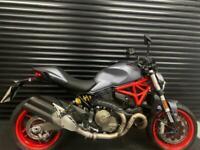 2017 67 Ducati Monster 821 ABS Grey 1 Owner
