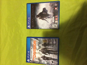 """Tom Clancy's The Division"" and ""Shadow of Mordor Middle-Earth"" St. John's Newfoundland image 1"