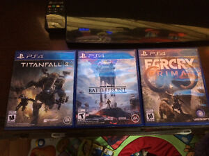 Titanfall 2, Battlefront, and Farcry Primal