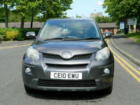 2010 Toyota Urbancruiser 1.4 D-4D AWD 5dr WITH 92K MILES S/H+BRILLIANT FUEL ECO