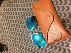 Ray banz blue polarized