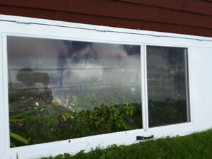 White Storm/Screen door 84 x 36