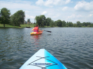 Kayak lessons -   open daily  (May - Nov)