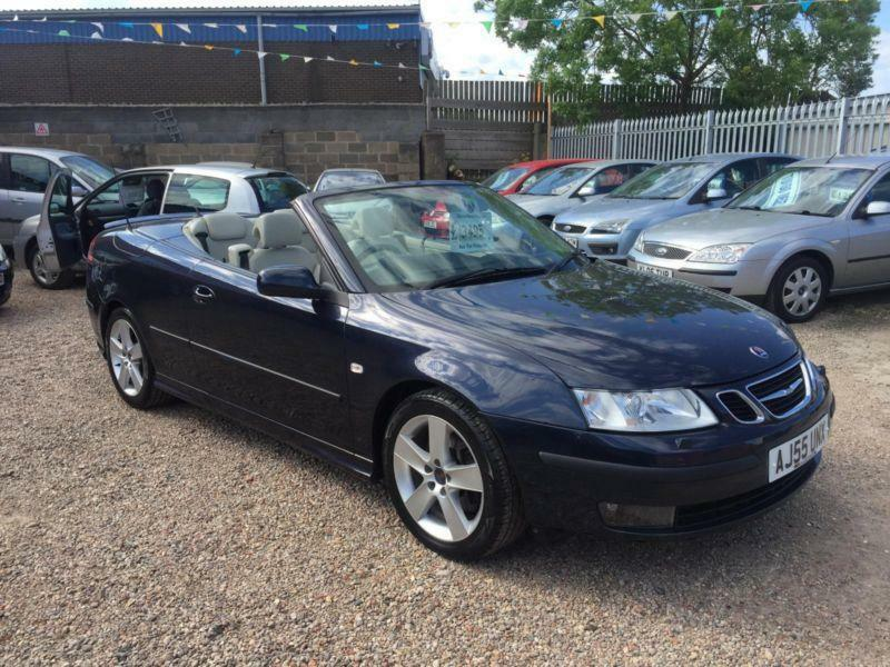 2006 saab 9 3 aero 2 8 t v6 convertible 250 bhp rare. Black Bedroom Furniture Sets. Home Design Ideas