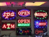 LED Open Signs $35.99/ea up