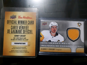Sidney Crosby Jersey Relic