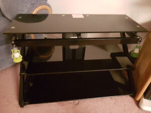 Metal Glass TV Stand