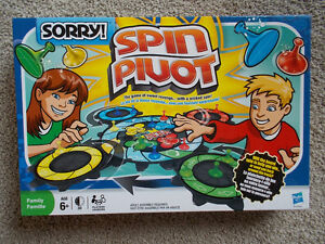 SORRY! SPIN Board Game - 2010 Classic Sorry Game with a Twist! London Ontario image 1